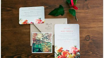 San Francisco Wedding Invitations