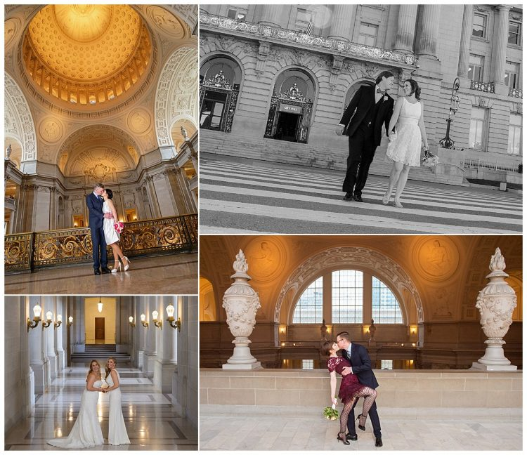 San Francisco City Hall Wedding, Photos by City Hall Wedding Photography by Michael