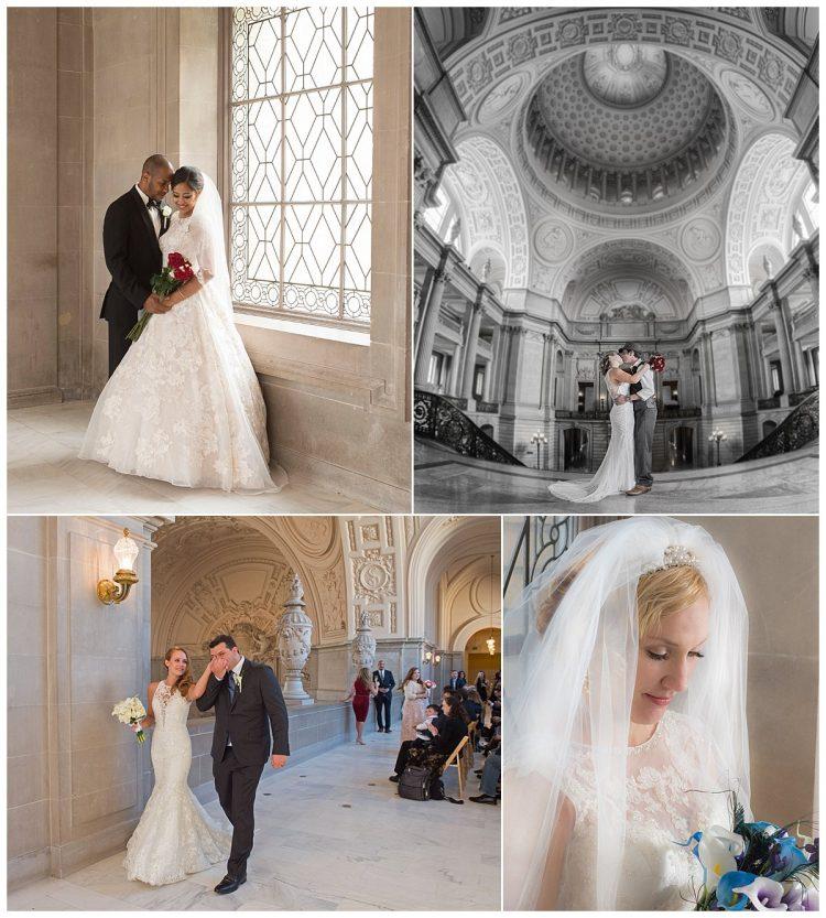 San Francisco City Hall Weddings, Photo by City Hall Wedding Photography by Michael