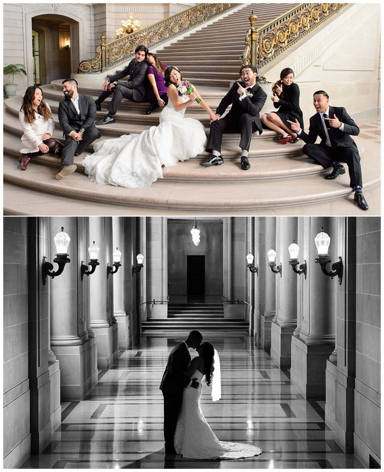 San Francisco City Hall Wedding Venue, Photos by City Hall Wedding Photography by Michael