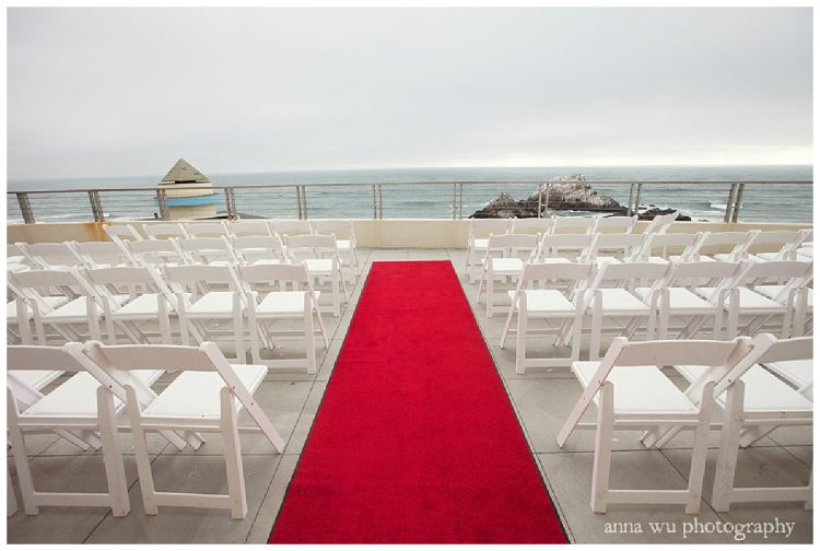 Wedding Venue Cliff House, Photo by Anna Wu Photography