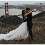10 Impossibly Cool Wedding Photos by the Golden Gate Bridge