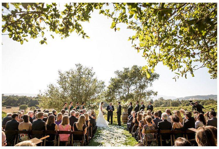 Gundlach Bundshu Winery Wedding Sonoma Valley Vineyard