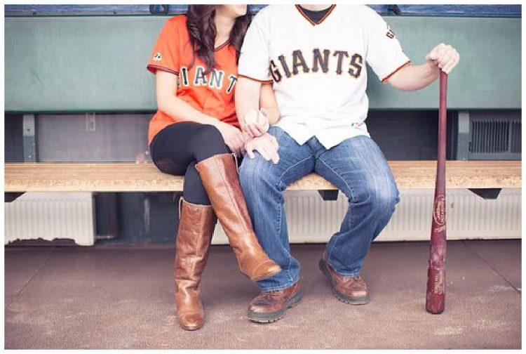 San francisco Giants engagement