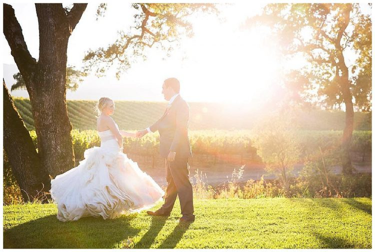 B.R. Cohn winery wedding
