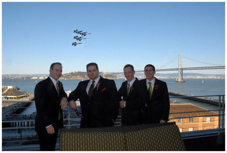 Fleet Week San Francisco Wedding