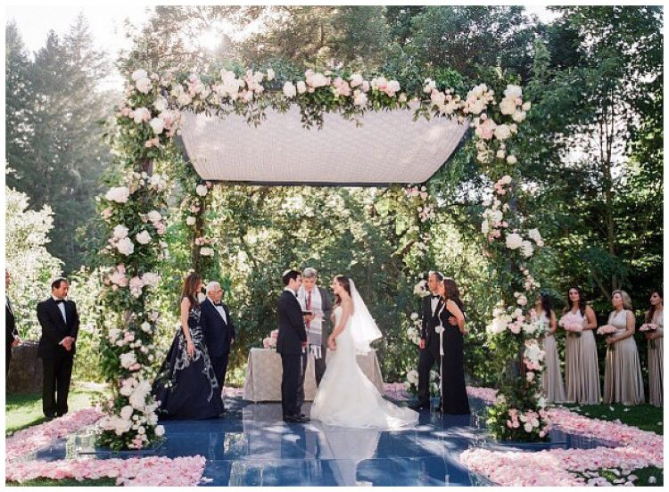 Meadowood wedding, Napa Valley