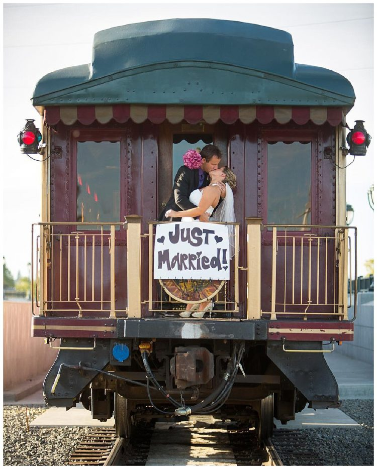 Napa Valley Wine Train Wedding