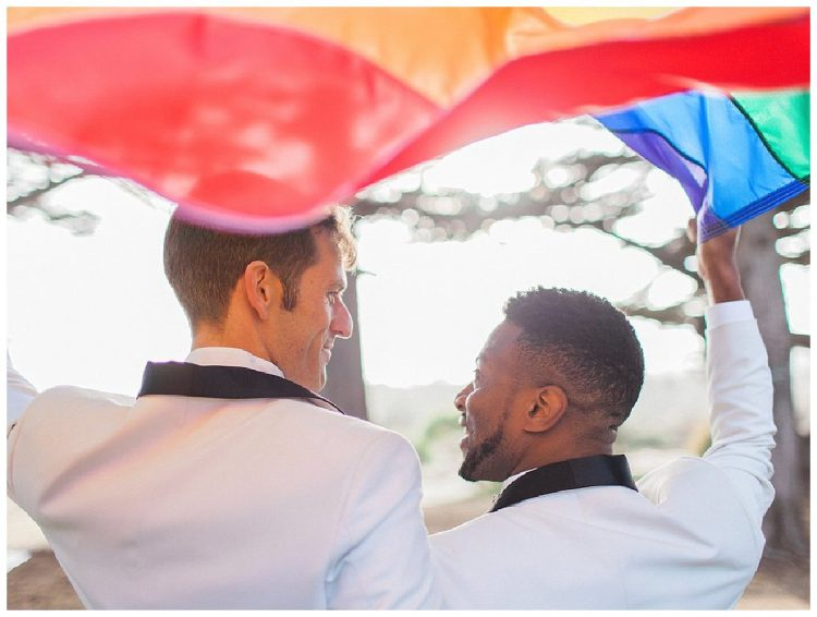 San Francisco Pride wedding
